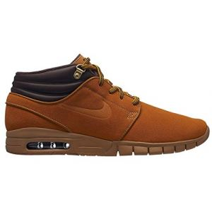 Nike SB Stefan Janoski Max Mid Premium Wheat Pack Bronze/Bronze/Gum Light Brown 8uk / Bronze/Bronze/Gum Light Brown