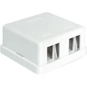Delock 86207 - Panneau de brassage réseau non équipé 2 ports LAN 1 U