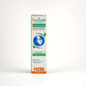Puressentiel Spray aérien respiratoire aux 19 huiles essentielles - 20 ml Spray