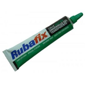 Rubafix 861000 - Tube de colle gel universelle transparente, 30 ml