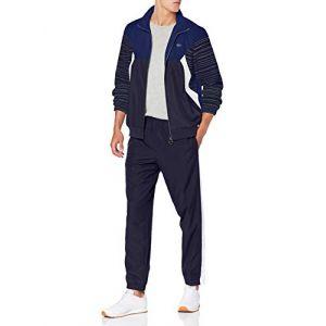 Image de Lacoste Sport WH8648 Ensemble de Sport, Bleu (Ocean Marine-Blanc 2ef), X-Large (Taille Fabricant:6) Homme