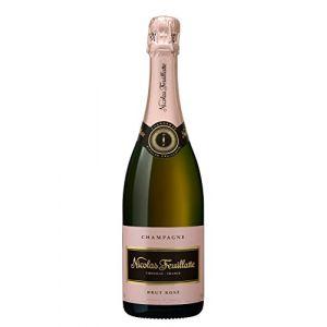 Nicolas Feuillatte Champagne AOP, rosé - La bouteille de 75cl