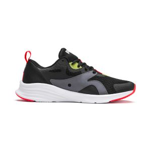 Puma Chaussures de running Hybrid Fuego Noir / Jaune - Taille 40