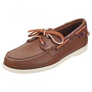 Sebago Docksides Portland, Chaussures Bateau Hommes, Marron