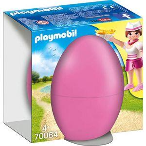 Playmobil 70084 - Les Œufs de Pâques - Serveuse avec comptoir - 2020