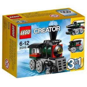 Lego 31015 - Creator 3 en 1 : La locomotive