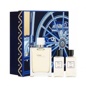 Hermès Terre d'Hermès - Coffret eau très fraîche, gel douche et baume après-rasage