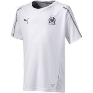 Puma T-shirt enfant Maillot Om Training 2018-19 blanc - Taille 8 ans,10 ans,12 ans,14 ans