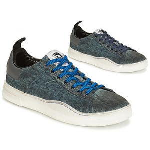 Diesel Baskets basses S-CLEVER LOW bleu - Taille 40,41,42,43,44,45,46