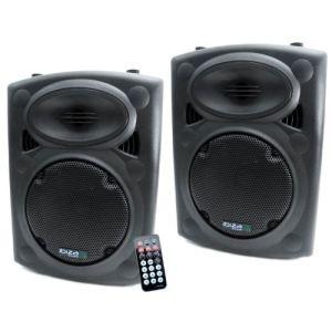 Ibiza Sound Enceinte amplifiée 200W + enceinte passive 250W