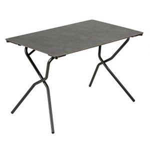 Lafuma Table pliante rectangulaire Anytime volcanic 110 x 68 x 72,5 cm