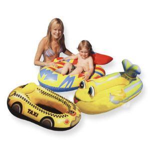 Intex Bateau Pool Cruiser gonflable : poisson, fusée ou voiture de course