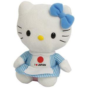 Ty Beanie Babies : Hello Kitty I Love Japan 15 cm