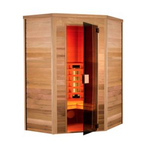 Holl's Sauna cabine infrarouge MULTIWAVE 3 CLUB 3050W