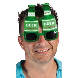 Ptit Clown Lunettes plastique bouteille de bière