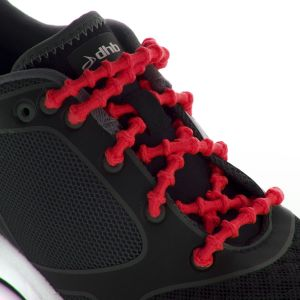 Xtenex Lacets autobloquants 75 cm rouge