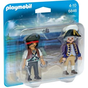 Playmobil 6846 - Duo pack Pirate et Soldat
