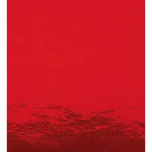 Maildor Rouleau 2x0,7m de papier métal une face coloris rouge