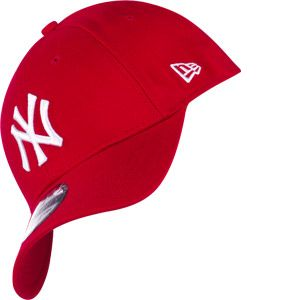 A New Era Casquette 39 Thirty MLB NY Rouge/Blanc SM