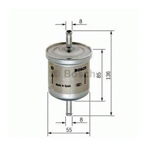 Bosch Filtre à carburant F026402001