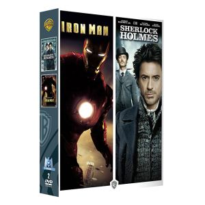 Coffret Iron Man + Sherlock Holmes