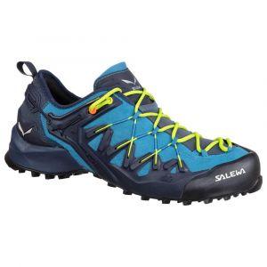 Salewa Chaussures Wildfire Edge - Premium Navy / Fluo Yellow - Taille EU 42 1/2