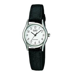 Casio LTP-1154PE-7BEF - Montre pour femme avec bracelet en cuir