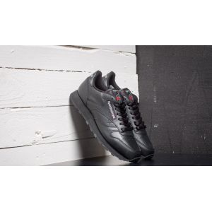Reebok Classic Leather, Chaussures de Running Mixte adulte, 2267_38.5 EU_Black, 46 EU