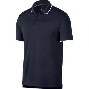 Nike Polo de tennis Court Dri-FIT Team pour Homme - Bleu - Taille L - Male