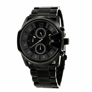 Diesel DZ418 - Montre pour homme Quartz Chronographe bracelet en acier