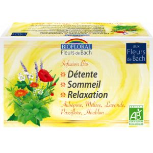Biofloral Infusion Détente Sommeil Relaxation 20 sachets