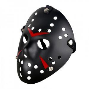 Original Party Masque Véritable Jason Voorhees Black - Vendredi 13 Freddy Hockey Airsoft Noir