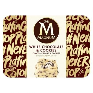Image de Magnum Batonnet Glace Chocolat Blanc & Cookies - La Boite De 296g