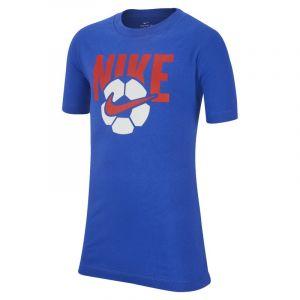 Nike Tee-shirt Sportswear Garçon plus âgé - Bleu - Taille Male