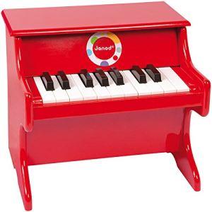 Janod Piano Confetti rouge
