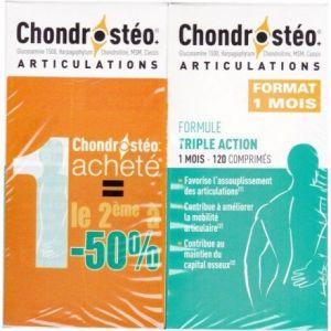 Laboratoire des Granions Chondrostéo+ - Lot de 2 boîtes de 120 comprimés
