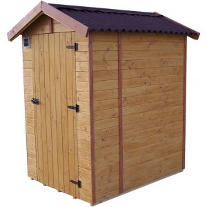 Foresta Abri WC Eden Toilette Sèche 16mm surface 1.44m²