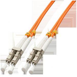 Lindy 46484 - Câble Fibre optique Duplex LC/LC 10 m Orange