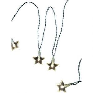 Polarlite 679295 - Guirlande lumineuse à motifs étoiles LED pour l'intérieur secteur blanc chaud 10.7 m