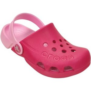 Crocs Electro, Sabots Mixte Enfant, Rose (Candy Pink/Carnation), 33/34 EU