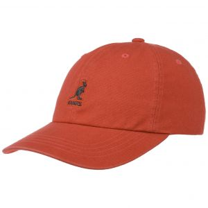 Kangol Washed Casquette de Baseball, Rouge (Clay CL000), Taille Unique Mixte
