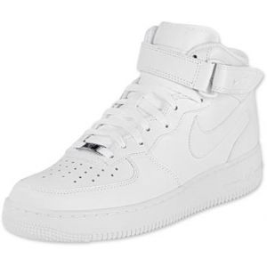 Nike Air Force 1 Mid Youth Gs chaussures blanc 37,5 = 5Y EU