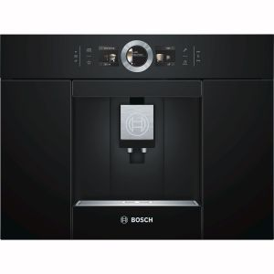 Bosch Ctl636eb6 Robot café expresso 19 bars encastrable noir serie 8
