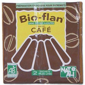 Natali Bio Flan café bio