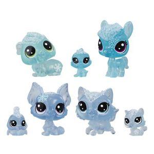 Hasbro Littlest Pet Shop - Tube de 7 figurines