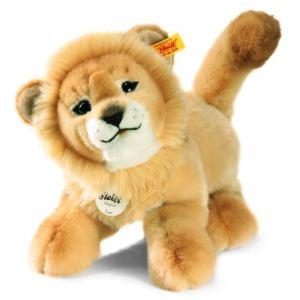 Steiff Peluche Bébé lion-pantin Leo 28 cm