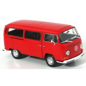 Welly 22472R - Volkswagen Combi T2 Bus 1972 - Echelle 1/24