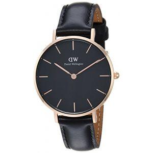 Daniel Wellington DW00100168 - Montre pour femme avec bracelet en cuir