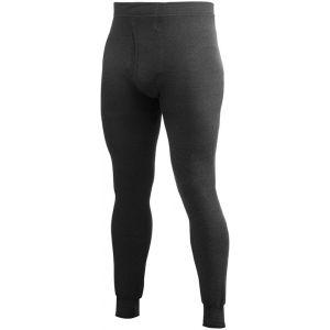 Woolpower 200 Sous-vêtement Homme noir M Sous-pantalons longs
