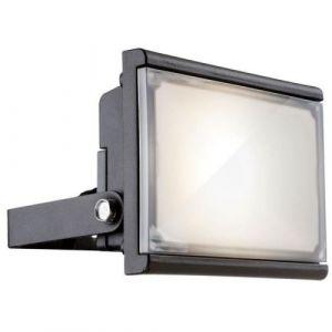 Globo Lighting Luminaire extérieur aluminium fonte gris - Plastique satiné - Luminaire extérieur - Ampoule LED incluse- Aluminium - 8,4W 35V - Fonte gris